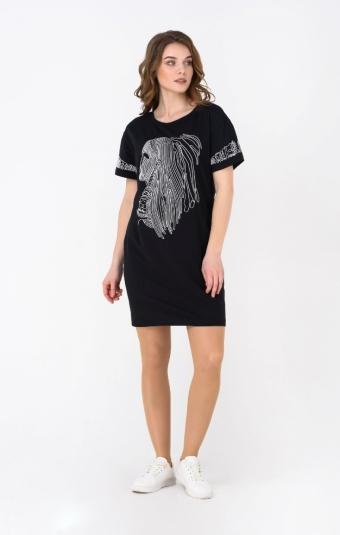 Платье RM1271-19DD Черный