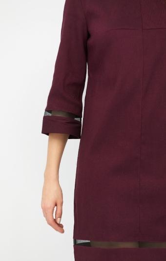 Платье RM1917-19DD Светло-бордовый