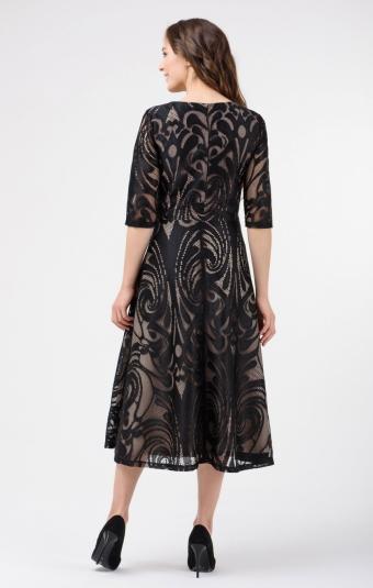 Платье RM1852-18VC Черный