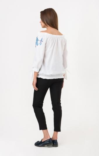 Блуза RM164-2-18DB Синий