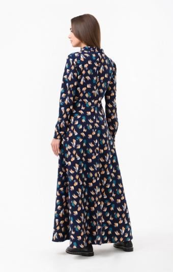 Платье RM1842-18DD Горчичный