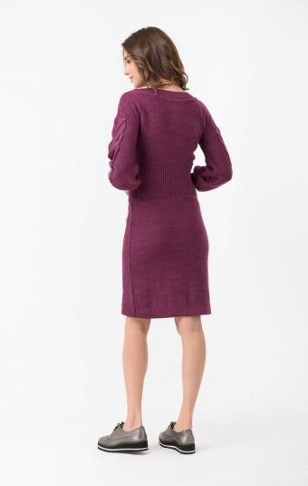 Платье RM1434-18DD Бордовый