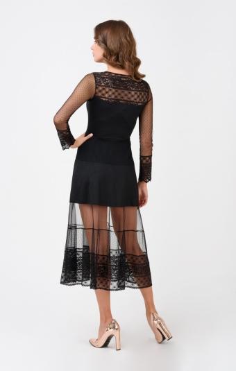 Платье RM1906-1-18VC Черный
