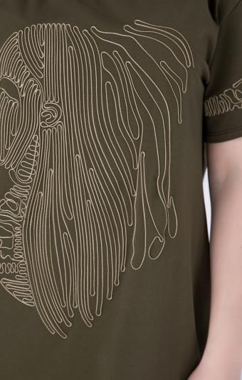 Платье RM1271-19DD Хаки