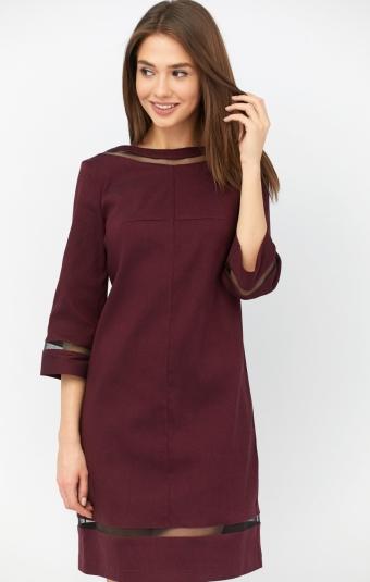 Платье RM1917-19DD Марсала