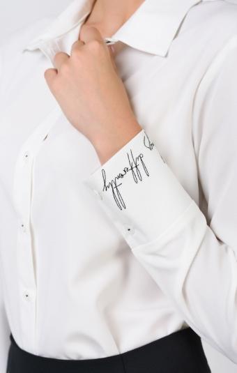 Блуза RM2006-19DB Белый