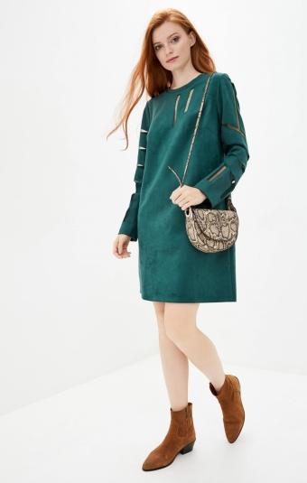 Платье RM1337-19DD Изумрудный