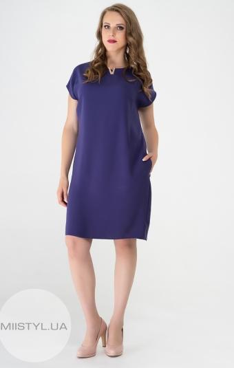 Платье November 40577 Темно фиолетовый