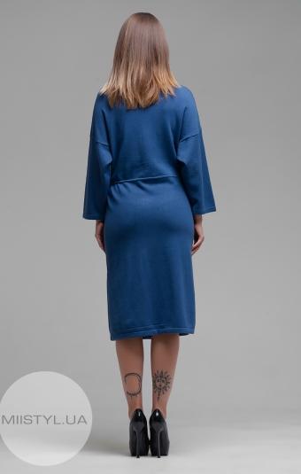 Платье Ljve 30653 Джинсовый