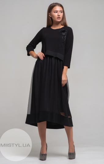 Платье Mira Mia 19k6035 Черный