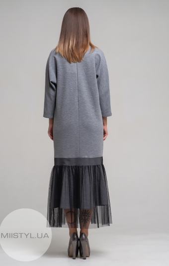 Платье Mira Mia 19k6066 Серый