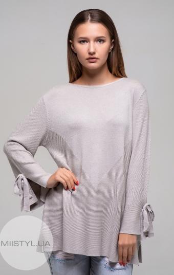 Джемпер Beauty Women 6505 Бежевый/Люрекс