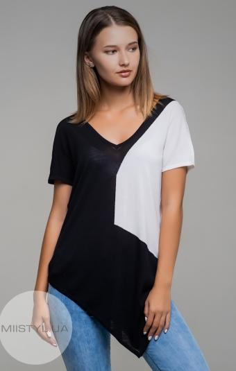 Блуза HZ 1647 Черный/Белый