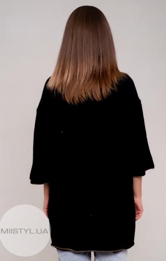 Джемпер короткий рукав Serianno 10C4542 Черный