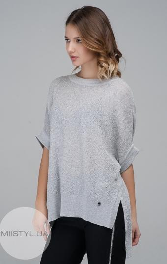 Блуза Serianno 10C3610 Светло-серый