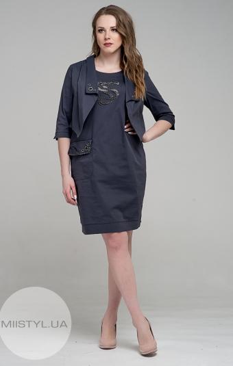 Платье Stella 7408-06 Серый