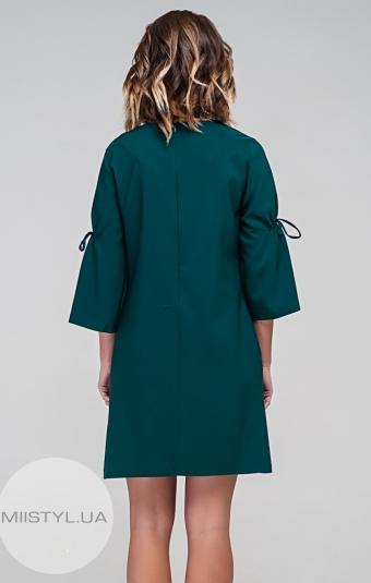 Платье Body form 6274 Изумрудный