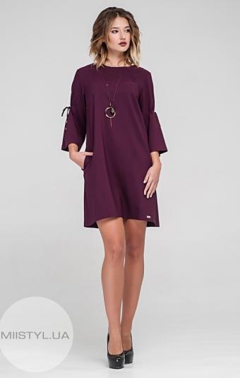 Платье Body form 6274 Марсала