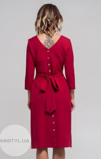 Платье Moi Angel 17K6040 Бордовый