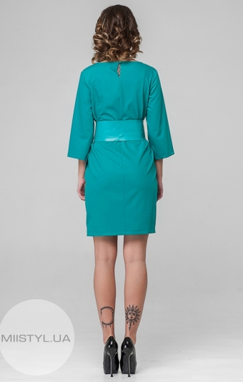 Платье Macca 8S814 Бирюзовый