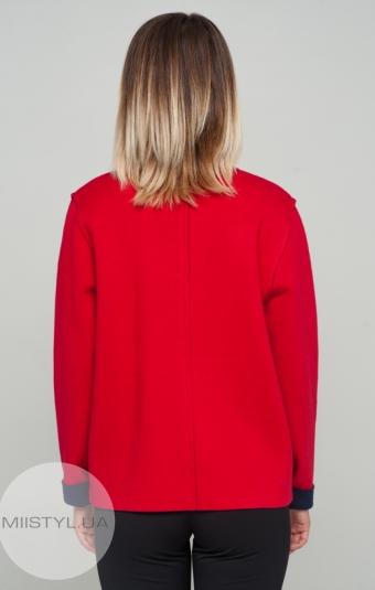 Болеро  HZ 1584 Красный/Темно-синий