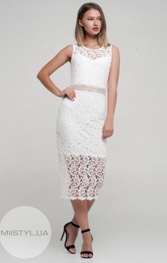 Платье Body form 6173 Белый