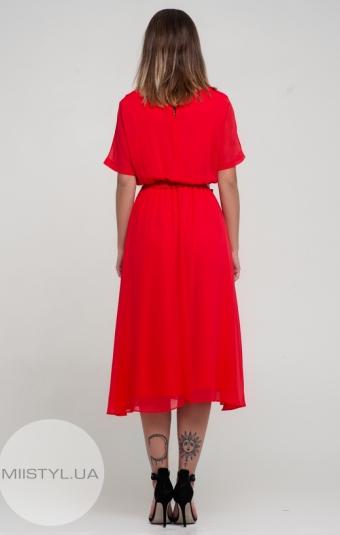Платье F&K 3138-1 Красный
