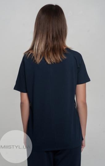 Футболка Giocco 5197 Темно-синий/Серебро