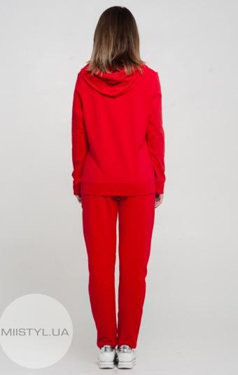 Джемпер Giocco 6875 Красный/Люрекс