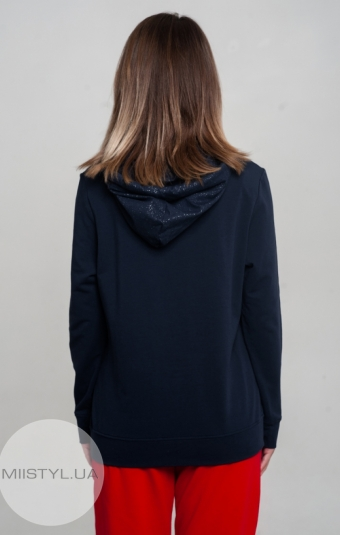 Джемпер Giocco 6875 Темно-синий/Люрекс