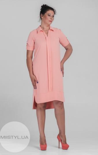 Платье L.Hotse 4520 Персиковый