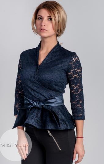 Блуза Cliche 2771 т.синяя