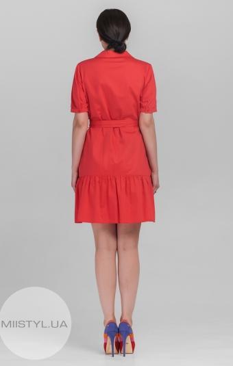Платье Fusion 43078 Коралловый