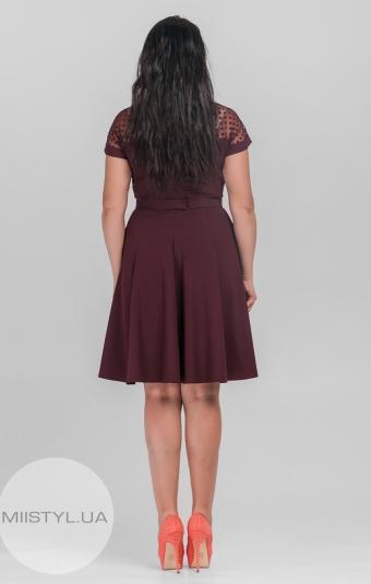 Платье Rica Mare RM891-15DD Марсала