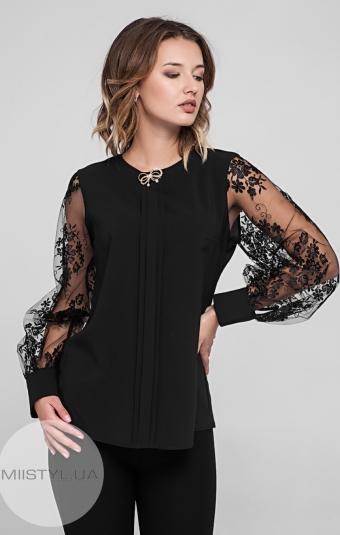 Блуза Moda Linda 1447 Черный
