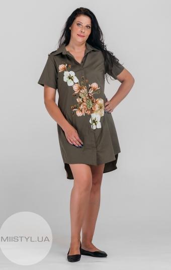 Платье Lumo 9184 Хаки