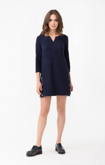 Платье RM1846-18DD Синий