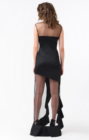 Платье RM1863-18VP Черный