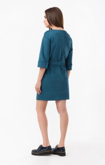 Платье RM1866-18DD Бирюзовый