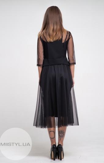 Платье Green World 7083 Черный