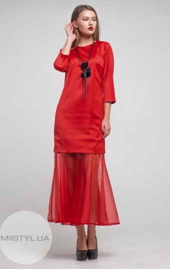 Платье Mira Mia 19k6072 Красный
