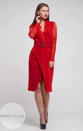 Платье Dojery 170837 Красный