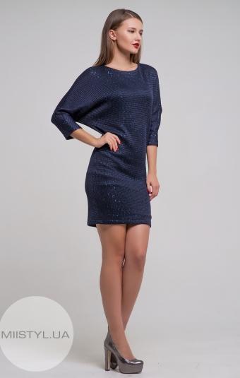 Платье Lady Form 3210 Темно-синий