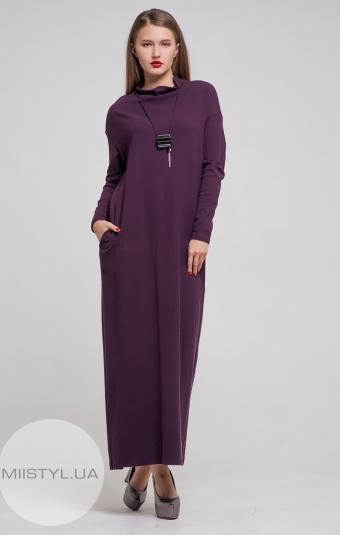 Платье Hukka 18k2050 Баклажановый