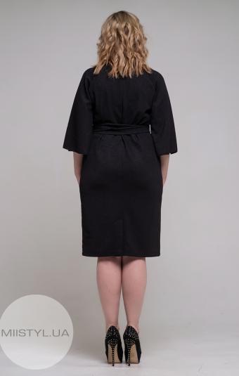Платье Nikolo Polini 2114 Черный/Люрекс