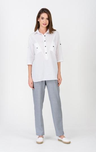 Блуза RM1252-19DB Белый
