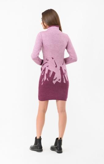 Платье RM1437-18DD Бордовый