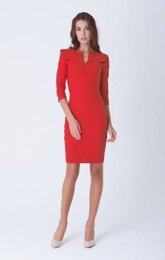 Платье Rica Mare RM332-1-16DD Красный