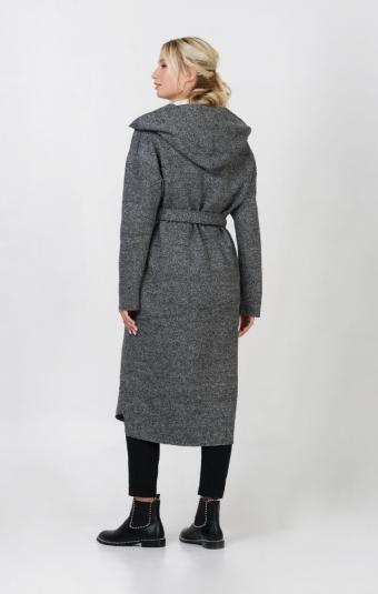 Пальто RM1255-1-19CT Серый