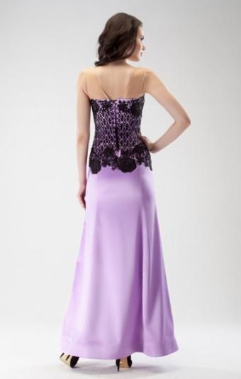 Платье Rica Mare RM1522-15VP сиреневый